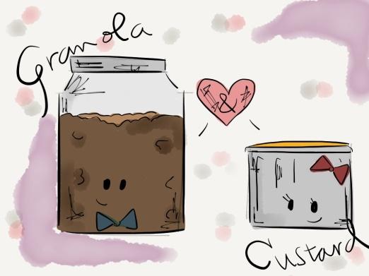 Granola&Custard